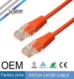 Cabo da correção de programa da coligação do preço de fábrica UTP de Sipu Cat5e para o Ethernet