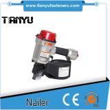 Injetor ajustável de alta velocidade do Nailer da bobina do comprimento do tiro