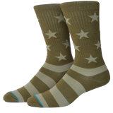 Antibakterielle silberne Faser-Socken für Armee