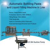 Goma embotelladoa automática y máquina de rellenar del líquido para el yogur (GT6T-6G)