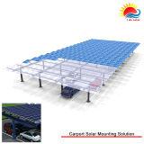 La meilleure bride solaire de vente de défilement ligne par ligne de système de support de la cornière 2016 fixe (MD0017)