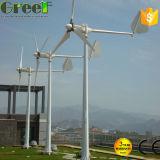 fuori-Griglia della turbina di vento di asse 3kw e sistema orizzontali di su-Griglia