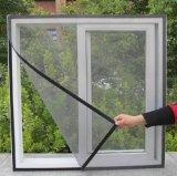 Feuer-Beweis gefalteter Invisiable überzogener Fiberglas-Insekt-Plastikbildschirm