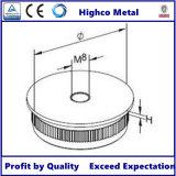 Monture plate de balustrade pour la balustrade et la balustrade d'acier inoxydable