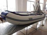 合板の床(FWS-D320)が付いている膨脹可能なボート