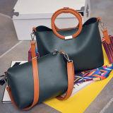 색깔 충돌 결박 핸드백 Sy7904를 가진 1개의 고정되는 숙녀 끈달린 가방에 대하여 최신 판매 2