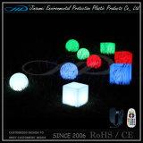 Mobília do diodo emissor de luz da cadeira do cubo para o clube noturno da barra