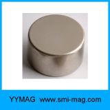 Cylindre de NdFeB d'aimant de terre rare magnétique
