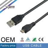 Кабель USB обязанности кабеля данным по USB Sipu высокоскоростной миниый
