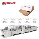 Hoja de la bolsa de alimentación de papel inferior de la máquina de encolado con pegamento a base de agua Zb60b