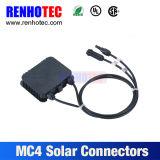 Montagem solar do painel do divisor do conetor de Mc4 picovolt