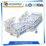 Кровать регулируемой кровати электрическая медицинская с поручнями ABS Headboard ABS отделяемыми с врезанным оператором (GT-BE5020)