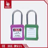 Cadeado de aço da segurança do cadeado plástico do OEM Bd-G71