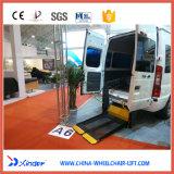 As séries Wl-d Dual elevador hidráulico da cadeira de rodas para camionetes