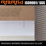 Etiqueta impermeable de la muestra libre RFID de la frecuencia ultraelevada para la biblioteca/los libros