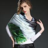 Способ и художнический напечатанный большой квадратный Silk шарф