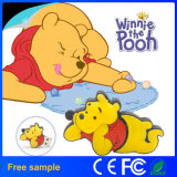 Logo personnalisé Lovely 2D Winnie Bear USB Flash Drive