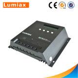 Controlador elevado da carga de Effiency 30A 12V/24V MPPT da série mágica com indicador do LCD