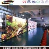 Muestra de interior a todo color vendedora caliente de la visualización de LED de P4.81 HD
