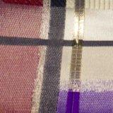 O fio tingiu a tela do poliéster do jacquard para o vestuário do revestimento da saia do vestido da mulher