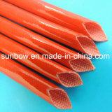 fibra de vidrio da alta temperatura del silicón 4kv que envuelve para los aisladores