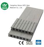 Matériau de construction composite en plastique en bois