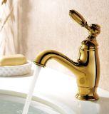 Роскошные Одной ручкой Латунь ванной Zf-802 Смеситель для раковины Смеситель