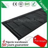 Waterproof Roofing material colorido Shingle ondulado pedra Folha de coberturas metálicas Revestido
