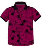 Le coton 100% Piquet a estampé le vêtement de polo teint