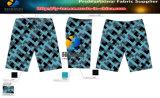 tessuto di stirata di modo 100d 4, tessuto elastico del poliestere per l'indumento/vestito/Shorts della spiaggia