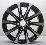 Rueda auto negra de la aleación de aluminio de 15 pulgadas para Honda