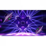 Unique UFO Zoom Beam LED Stage Disco Bar Effect Light