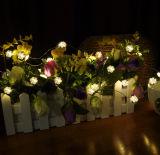 Luz de prata da corda do USB do Fairy impermeável da qualidade superior para a decoração