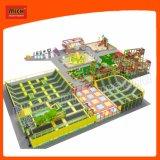 O campo de jogos interno do parque de diversões de Mich caçoa o campo de jogos interno