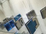 Glace de Frameless à de doubles charnières de porte latérales en verre d'ouverture