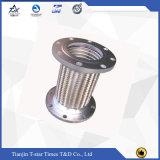 Boyau métallique flexible ondulé d'acier inoxydable