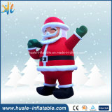 Decoración de Navidad personalizada Santa Claus Inflatable Advertising Equipment