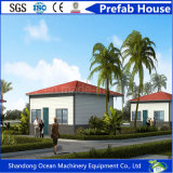 Casa pré-fabricada do edifício da instalação fácil econômica do orçamento do material de construção da construção de aço