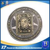 Изготовленный на заказ монетка сувенира серебра Antique промотирования сверчка (Ele-203)