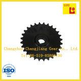 Übertragungs-Motorrad-Förderanlagen-Kettenrad-Gang mit chemischem schwarzem Ende
