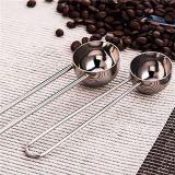 Draht-Griff-Edelstahl-messender Kaffee-Löffel