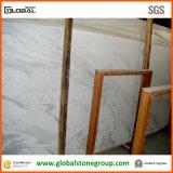 Marbre blanc normal de Volakas pour des dessus de meubles, de compteur et de vanité