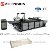 Machine de découpage non tissée de qualité avec la soudure ultrasonore Zxq-A1200