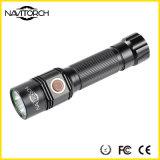 CREE XP-E LED schwarze nachladbare Wasser-beständige Taschenlampe (NK-1865)