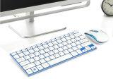 Nuovi mini mouse e tastiera senza fili sottili di alluminio del calcolatore 2.4G
