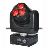 이동하는 맨 위 광속 LED 3X15W RGBW 4in1
