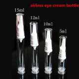 5ml 10ml 12ml 15ml Airless Eyecare Cream Bottle/Airless Pump Bottle/Cosmetic Lotion Bottle