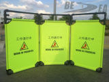 China de fábrica portable de la seguridad plegable de tela Barrera