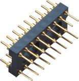 rangée H=3.0 15.24 de 2.54mm espaçant autour du mâle de Pin IC