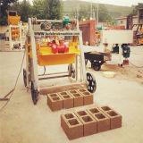 構築の移動式コンクリートブロック機械
